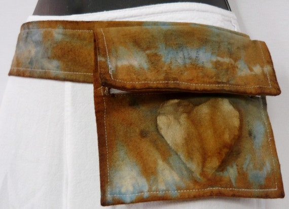 SOLUNA batik cotton belt wallet