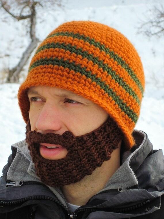 CUSTOM bearded beanie