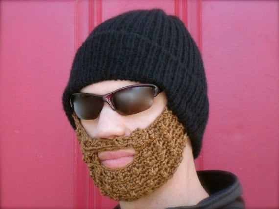 beard hat -  basic black S/M