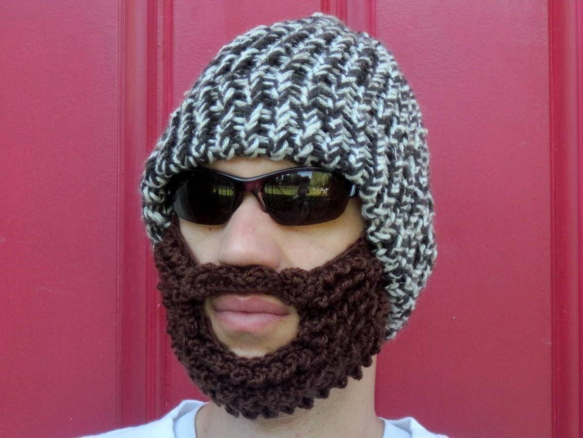 Crochet Beard Hat Bearded Lumberjack Hat The Original Beard