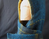 Hooded Scarf - Wooly Wrap for Fall and Winter