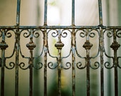 Weathered Portal - Iron, Gate, Old, Rusted, Key West - Fine Art Film Photograph