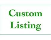Custom Listing For Andrea Swan