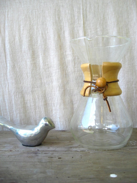 Vintage Chemex Coffee Maker by verylovelylife on Etsy