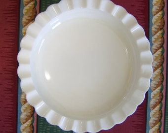 Hobnail Milk Glass Ash Tray or Candle Holder