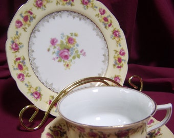 Occupied Japan  China Desert/Luncheon Set of 3 Pieces
