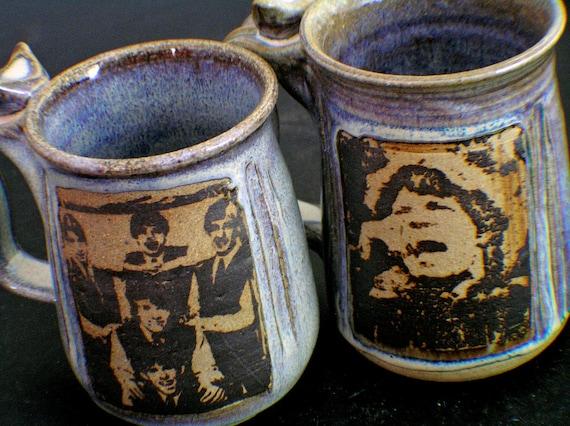 SALE  Rolling Stones and Mick Jagger Mug Set