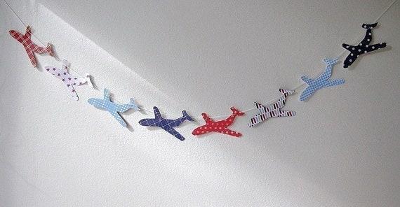 Little Plane Garland - classic - Shop4Kids