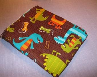 Sandwich Bag w/ Michael Miller's Dinosaur fabric BUY 3 GET 1 FREE