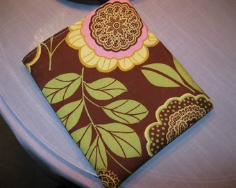 Sandwich Bag, sale BUY 3 GET 1 FREE Amy Butler's Lacework in Brown fabri