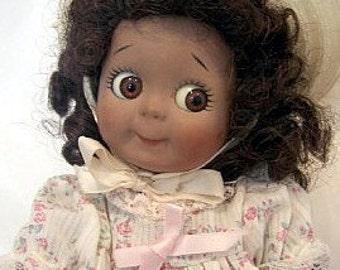 Googlie Doll Kestner 221 Vintage Doll  Artist Made
