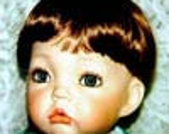 Toddler Doll Wig  by Global Modacrylic  Size 5 - 6
