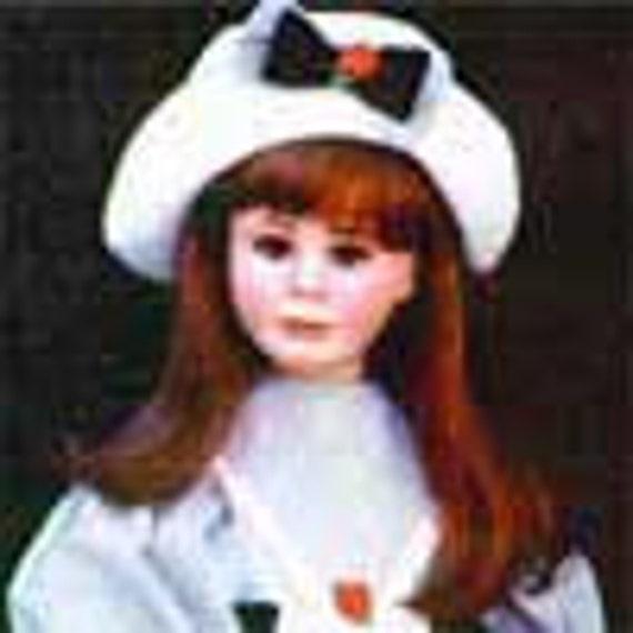 For Jannett 2 Global Modacrylic Doll Wig Size 7 -  8