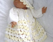 New Design - Baby Newborn Crochet Pattern Tonika