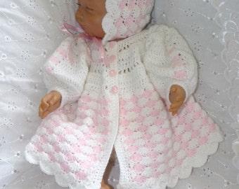 New Design - Baby Newborn Crochet Pattern Maddison