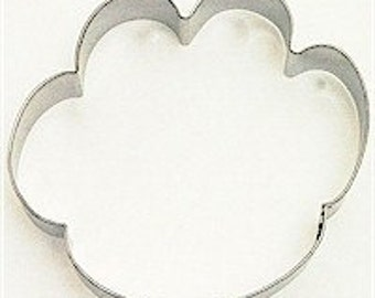 """Large Dog Paw Cookie Cutter 4.5"""", Dog foot print cookie cutter, Paw print cookie cutter"""