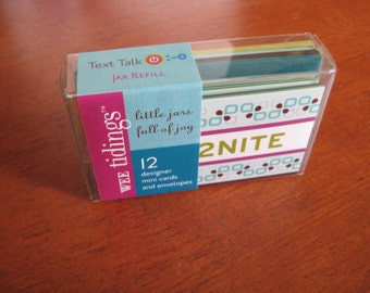 Text Talk Wee Tidings Refill Box