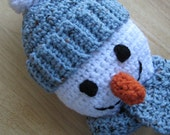 Snowman Towel Holder