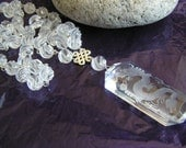 See Through  Dragon (Carved Quartz Dragon Necklace)