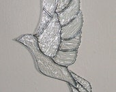 Crystal Clear Stained Glass Bird