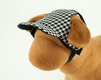 Houndstooth Dog Hat