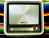 Funky 70s AM/FM K-mart Radio rare and working