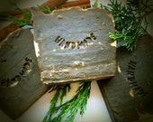 Pine Tar with Black Tea - Handmade Soap