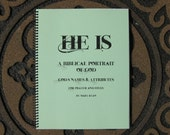 Book - God's Names and Attributes, He Is,   A Biblical Portrait of God