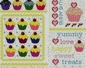 Cupcake Cross Stitch Patterns