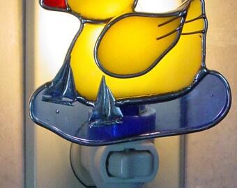 Yellow ducky night light