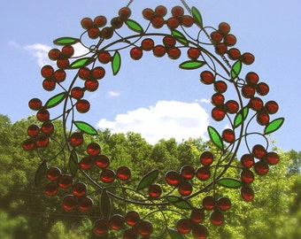 Red nugget wreath
