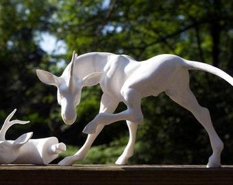 PYO Resin Kirin Unicorn Sculpture