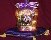 East Carolina University Crown Royal Bottle Lamp RESERVED FOR dclilly