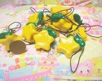 Kingdom Hearts Paopu Cell Phone Charm Pairs(2)