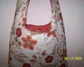 Ivory Peach Bohemian Sling Bag