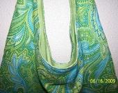 Fresh Paisley Sling Bag