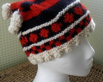 Chunky Hand-Knitted Winter Hat