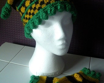 Children's Chunky Wool Hat and Mittens