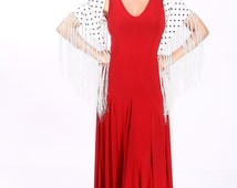 ISABEL flamenco dress, Flamencita design , spanish tribal fusion dress.