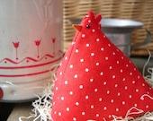Chicken Pincushion, Paperweight, Decoration