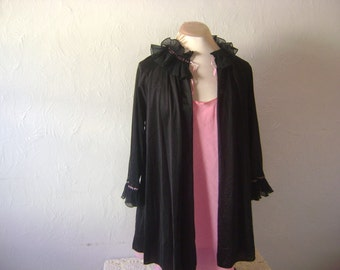 Victorian Revival Ruffle Jacket- Medium