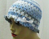 Blue Ladies Spring and Summer Hat with FREE SHIPPING