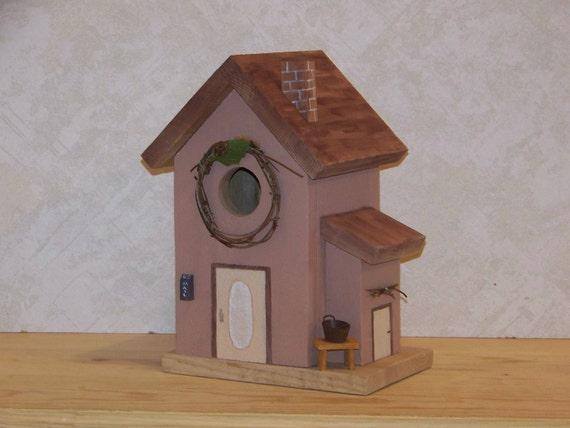 FolkArt  Birdhouse