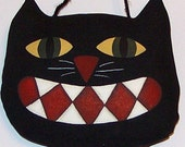 Black Cat Ornie - Tuck - Bowl Filler - Halloween