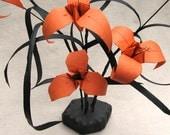 Halloween Ikebana by Paper Disciple