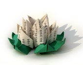 Romantic Korean Origami Lotus by Paper Disciple