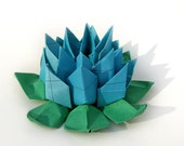 Oceanic Map Lotus by Paper Disciple