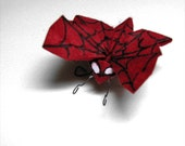 Butterfly the Spiderman - Ultra Geekery Origami Mixed Media Artwork by Paper Disciple