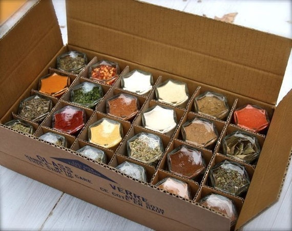 EVERYTHING but the... Gift Set (Includes 24 Spices) 1.5 oz Magnetic Spice Rack