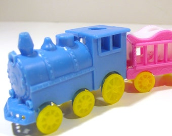 Birthday candle cake topper - Circus Train
